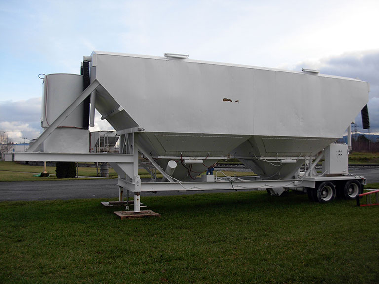 Equipment Rental Low Profile Silo