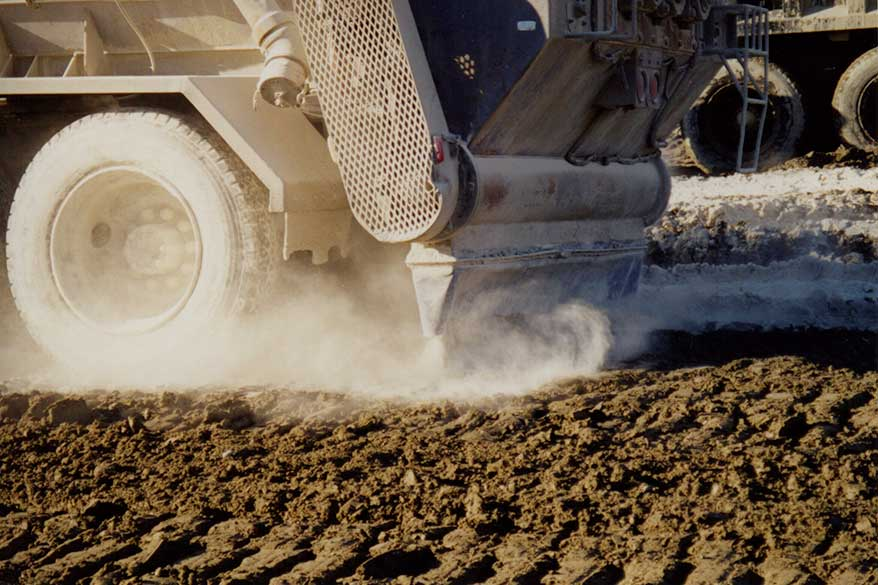 Lime kiln Dust - Soil Drying/Conditioning